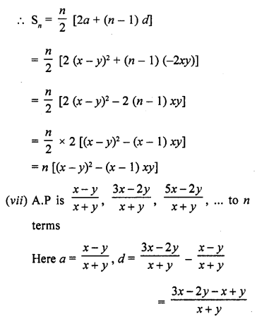 RD Sharma Class 10 Solutions Chapter 5 Arithmetic ProgressionsEx 5.6 5
