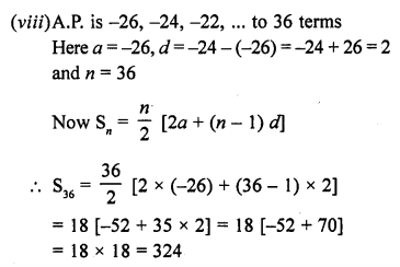 RD Sharma Class 10 Solutions Chapter 5 Arithmetic ProgressionsEx 5.6 7