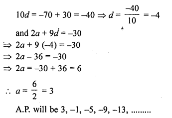 RD Sharma Class 10 Solutions Chapter 5 Arithmetic ProgressionsEx 5.6 73