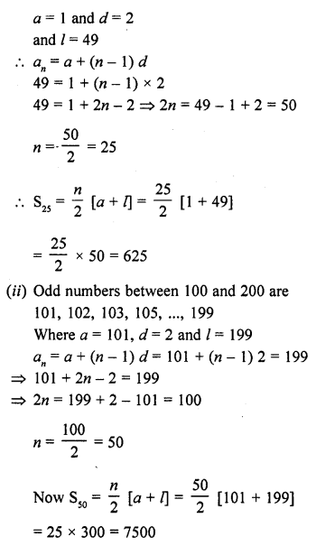 RD Sharma Class 10 Solutions Chapter 5 Arithmetic ProgressionsEx 5.6 92