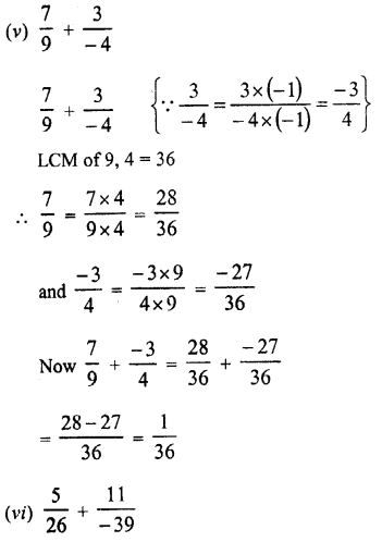 RD Sharma Class 8 Solutions Chapter 1 Rational NumbersEx 1.1 16