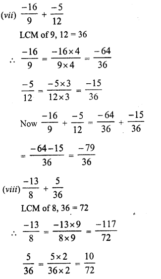 RD Sharma Class 8 Solutions Chapter 1 Rational NumbersEx 1.1 18