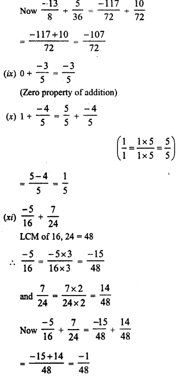 RD Sharma Class 8 Solutions Chapter 1 Rational NumbersEx 1.1 19