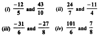 RD Sharma Class 8 Solutions Chapter 1 Rational NumbersEx 1.1 20