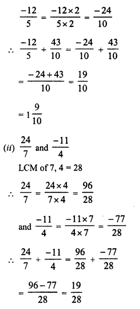 RD Sharma Class 8 Solutions Chapter 1 Rational NumbersEx 1.1 22