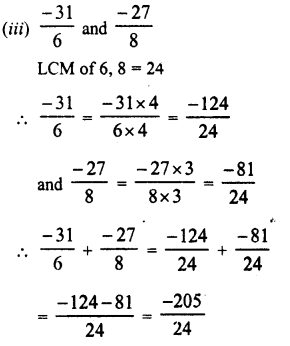 RD Sharma Class 8 Solutions Chapter 1 Rational NumbersEx 1.1 23
