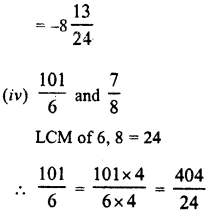 RD Sharma Class 8 Solutions Chapter 1 Rational NumbersEx 1.1 24