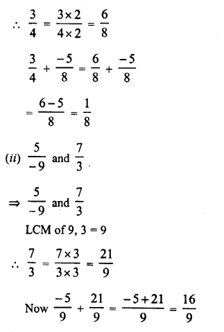 RD Sharma Class 8 Solutions Chapter 1 Rational NumbersEx 1.1 6
