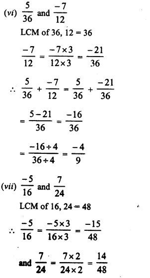 RD Sharma Class 8 Solutions Chapter 1 Rational NumbersEx 1.1 9