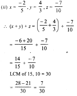 RD Sharma Class 8 Solutions Chapter 1 Rational NumbersEx 1.2 11