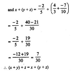 RD Sharma Class 8 Solutions Chapter 1 Rational NumbersEx 1.2 12