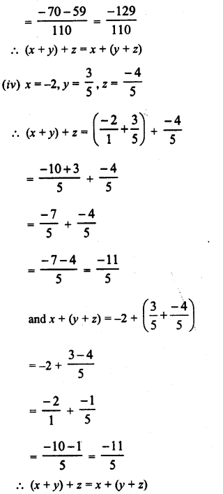 RD Sharma Class 8 Solutions Chapter 1 Rational NumbersEx 1.2 14