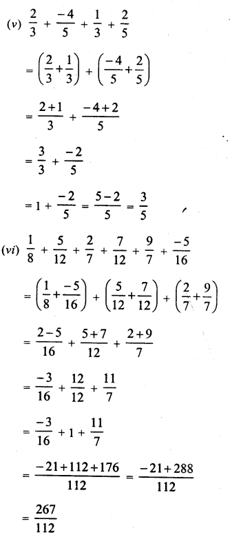 RD Sharma Class 8 Solutions Chapter 1 Rational NumbersEx 1.2 27