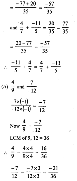 RD Sharma Class 8 Solutions Chapter 1 Rational NumbersEx 1.2 3