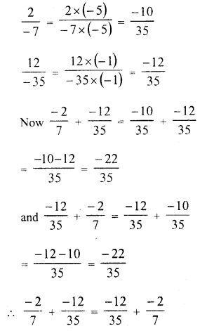 RD Sharma Class 8 Solutions Chapter 1 Rational NumbersEx 1.2 6