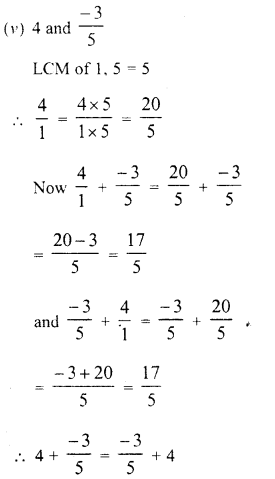 RD Sharma Class 8 Solutions Chapter 1 Rational NumbersEx 1.2 7