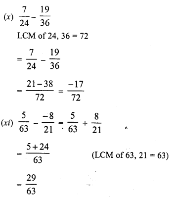 RD Sharma Class 8 Solutions Chapter 1 Rational NumbersEx 1.3 10