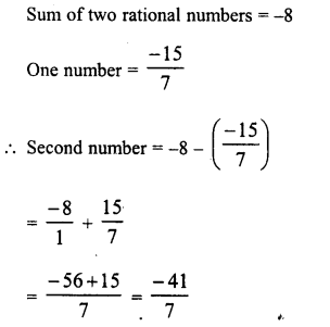 RD Sharma Class 8 Solutions Chapter 1 Rational NumbersEx 1.3 14