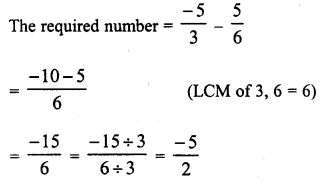 RD Sharma Class 8 Solutions Chapter 1 Rational NumbersEx 1.3 19