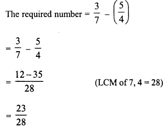 RD Sharma Class 8 Solutions Chapter 1 Rational NumbersEx 1.3 20