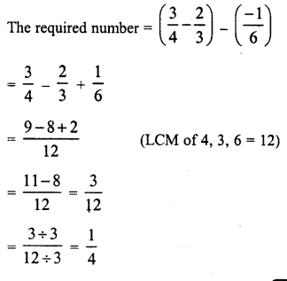 RD Sharma Class 8 Solutions Chapter 1 Rational NumbersEx 1.3 24