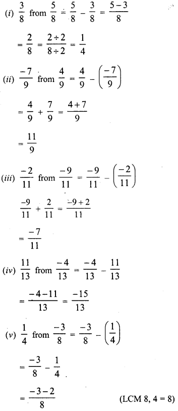RD Sharma Class 8 Solutions Chapter 1 Rational NumbersEx 1.3 4