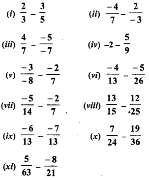 RD Sharma Class 8 Solutions Chapter 1 Rational NumbersEx 1.3 6
