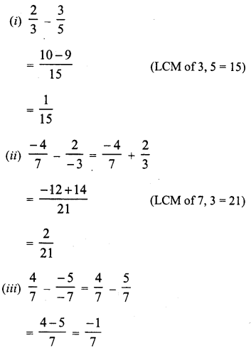 RD Sharma Class 8 Solutions Chapter 1 Rational NumbersEx 1.3 7