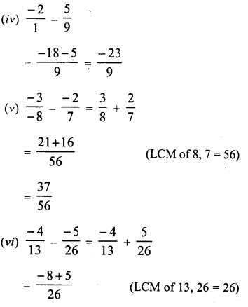 RD Sharma Class 8 Solutions Chapter 1 Rational NumbersEx 1.3 8