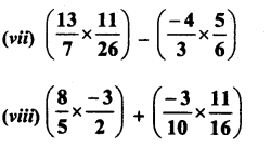 RD Sharma Class 8 Solutions Chapter 1 Rational NumbersEx 1.5 13