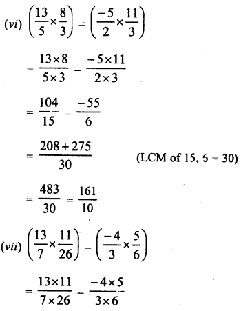 RD Sharma Class 8 Solutions Chapter 1 Rational NumbersEx 1.5 16