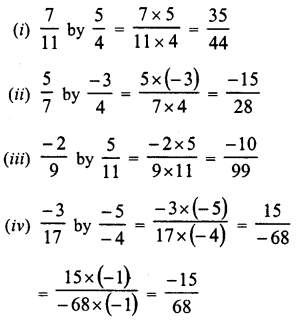 RD Sharma Class 8 Solutions Chapter 1 Rational NumbersEx 1.5 2