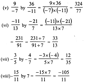 RD Sharma Class 8 Solutions Chapter 1 Rational NumbersEx 1.5 3