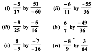 RD Sharma Class 8 Solutions Chapter 1 Rational NumbersEx 1.5 4