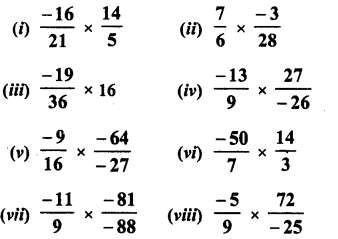 RD Sharma Class 8 Solutions Chapter 1 Rational NumbersEx 1.5 9