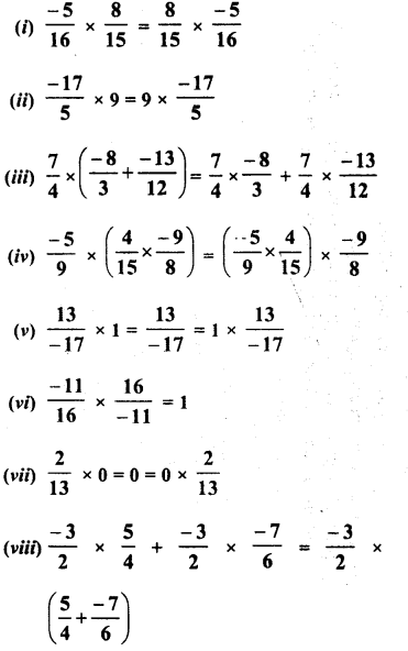 RD Sharma Class 8 Solutions Chapter 1 Rational NumbersEx 1.6 18