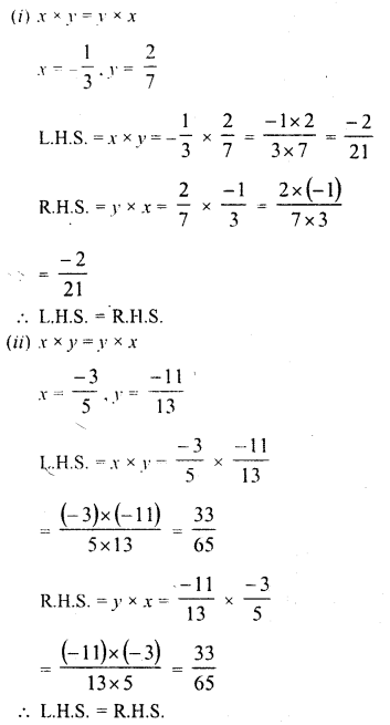 RD Sharma Class 8 Solutions Chapter 1 Rational NumbersEx 1.6 2