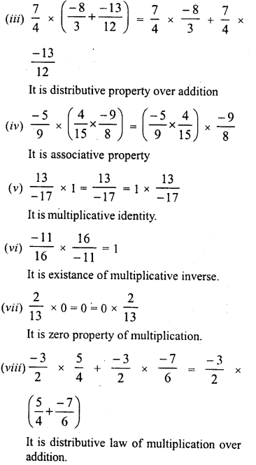 RD Sharma Class 8 Solutions Chapter 1 Rational NumbersEx 1.6 20
