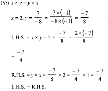 RD Sharma Class 8 Solutions Chapter 1 Rational NumbersEx 1.6 3
