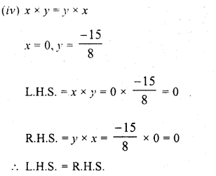 RD Sharma Class 8 Solutions Chapter 1 Rational NumbersEx 1.6 4