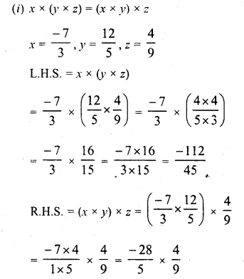 RD Sharma Class 8 Solutions Chapter 1 Rational NumbersEx 1.6 6