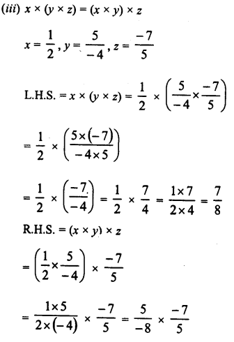 RD Sharma Class 8 Solutions Chapter 1 Rational NumbersEx 1.6 8