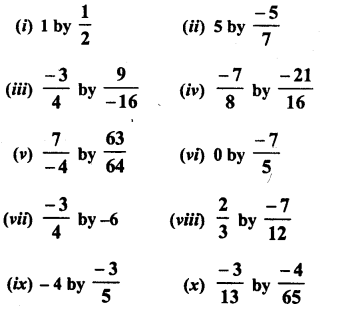RD Sharma Class 8 Solutions Chapter 1 Rational NumbersEx 1.7 1