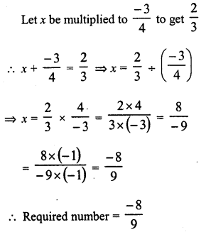RD Sharma Class 8 Solutions Chapter 1 Rational NumbersEx 1.7 14