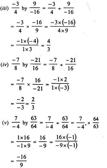 RD Sharma Class 8 Solutions Chapter 1 Rational NumbersEx 1.7 3