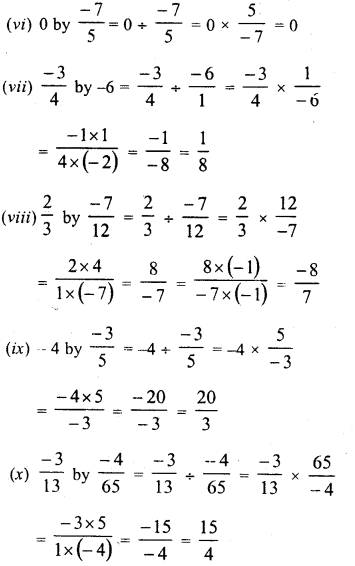RD Sharma Class 8 Solutions Chapter 1 Rational NumbersEx 1.7 4
