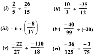 RD Sharma Class 8 Solutions Chapter 1 Rational NumbersEx 1.7 5