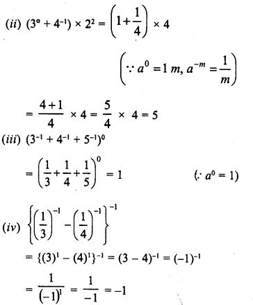 RD Sharma Class 8 Solutions Chapter 2 PowersEx 2.1 5