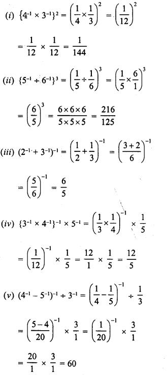 RD Sharma Class 8 Solutions Chapter 2 PowersEx 2.2 10