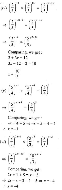 RD Sharma Class 8 Solutions Chapter 2 PowersEx 2.2 26